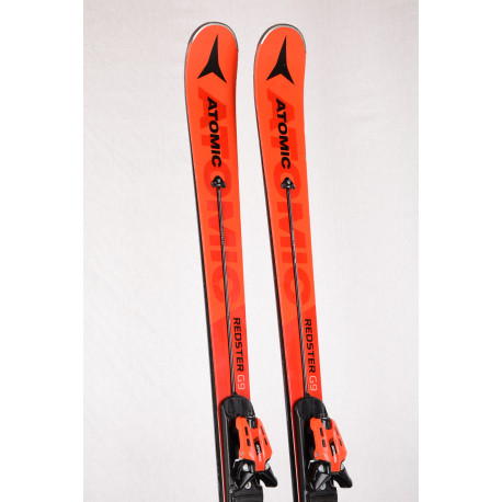 skis ATOMIC REDSTER G9 SERVOTEC 2019, POWER woodcore, TITANIUM powered + Atomic X12 TL ( TOP condition )