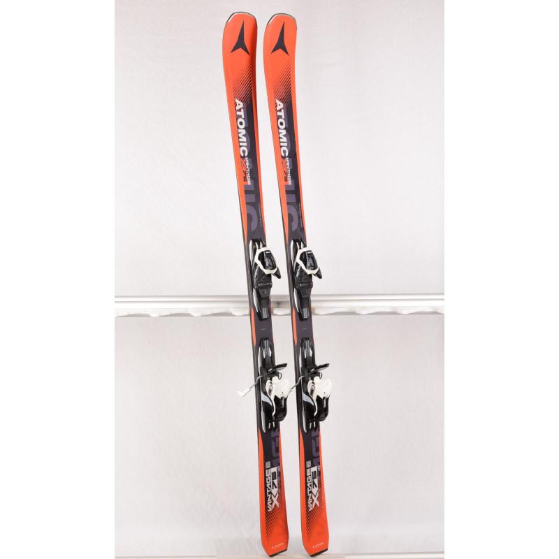 skis ATOMIC VANTAGE X 75 light woodcore, AM rocker, Orange + Atomic L 10 lithium
