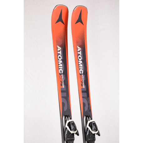 skis ATOMIC VANTAGE X 75 2018 light woodcore, AM rocker, Orange + Atomic L 10 lithium