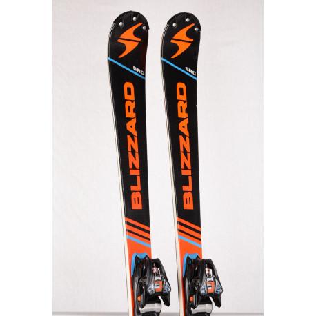 Ski BLIZZARD SRC MASTERS RACING 2018, titanium, woodcore + Marker XCELL 12