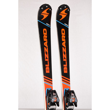 skidor BLIZZARD SRC MASTERS RACING, titanium, woodcore + Marker XCELL 12