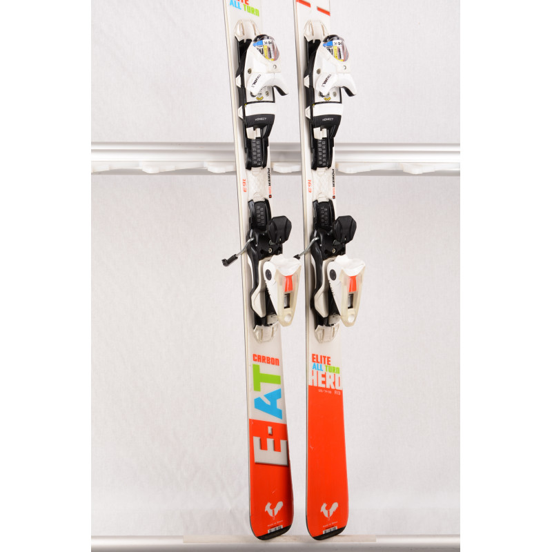 lyže ROSSIGNOL HERO ELITE ALL TURN 2018, E-AT carbon, proptech, power turn + Look Xpress 11 ( TOP stav )
