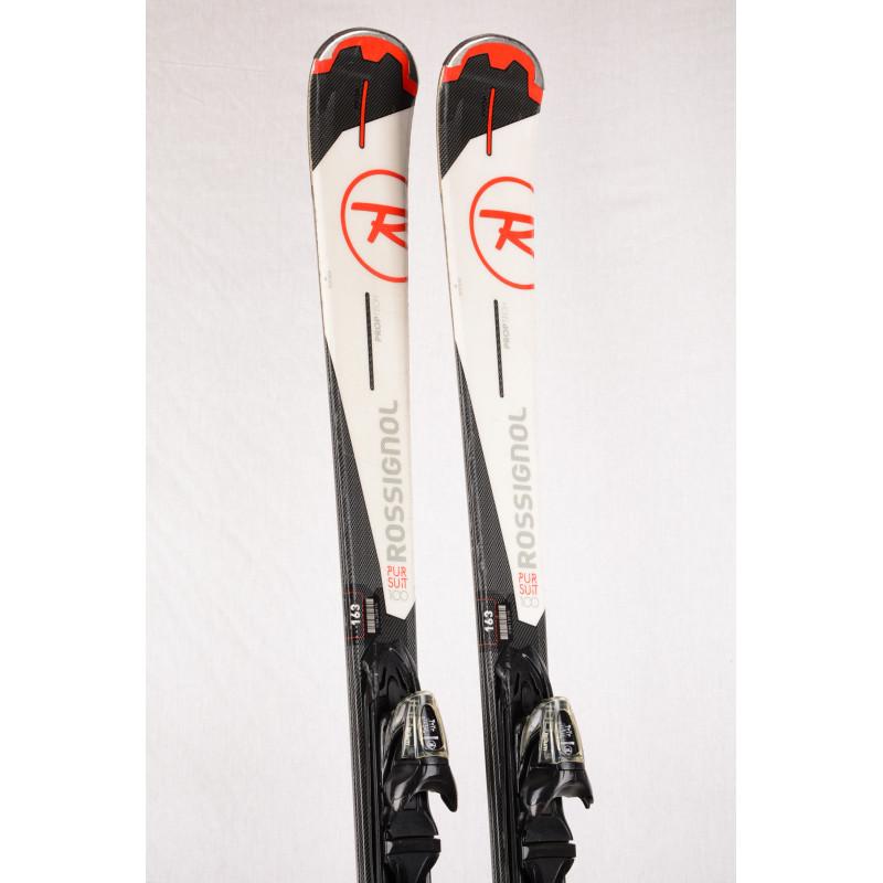 skis ROSSIGNOL PURSUIT 100 Xelium, P100, PROPtip, PROtech, POWERturn rocker + Rossignol XELIUM 100