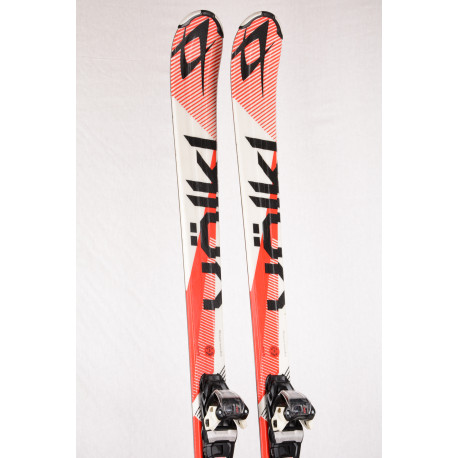skis VOLKL CODE 7.4 red, FULL sensor WOODcore, TIP rocker + Marker FDT 10 ( TOP condition )