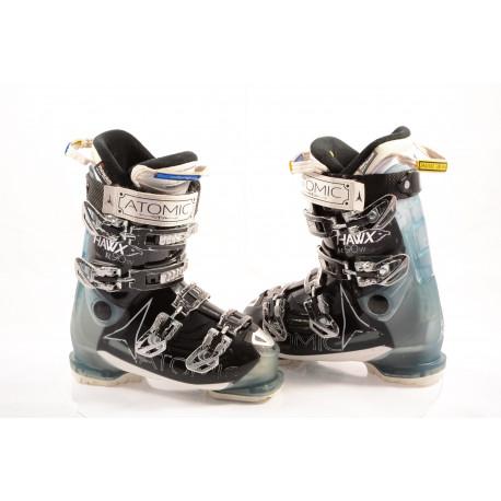 dámske lyžiarky ATOMIC HAWX R90 W, ATOMIC silver T1, 3M THINSULATE, MEMORY fit, BLACK/blue ( TOP stav )