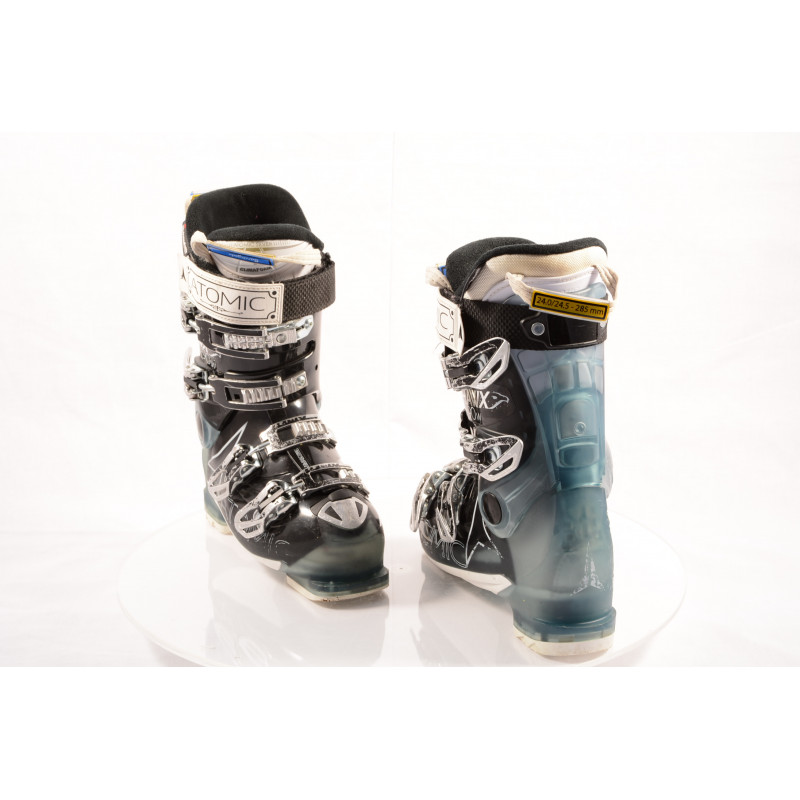 dámske lyžiarky ATOMIC HAWX R90 W, ATOMIC silver T1, 3M THINSULATE, MEMORY fit, BLACK/blue