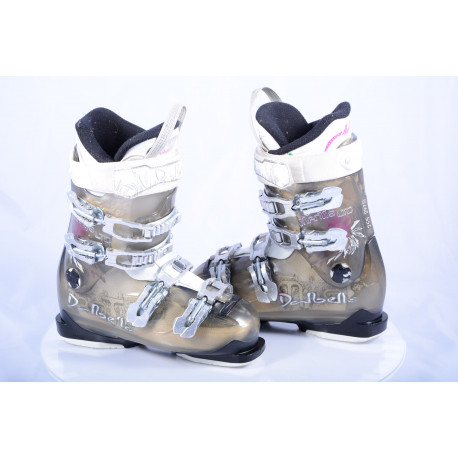 women's ski boots DALBELLO MANTIS LTD, trufit, custom fit performer, transparent/white