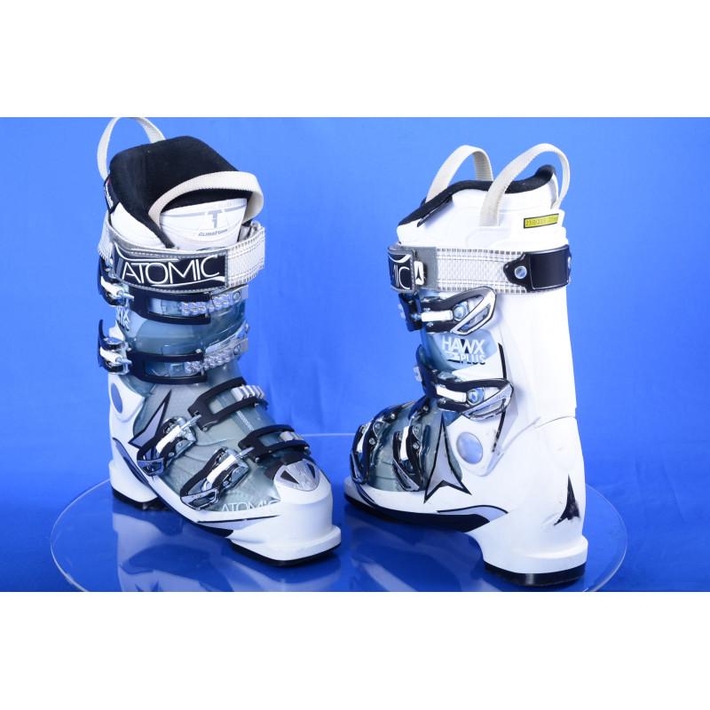 dámske lyžiarky ATOMIC HAWX 2.0 plus 90, clima foam, memory fit, 3M thinsulate, white/transp ( TOP stav )