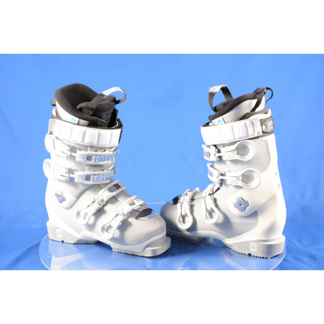 women's ski boots FISCHER RC PRO 80 W XTR 2018 white, THERMOSHAPE, SANITIZED, AFZ, DRY shield, 2K power chassis