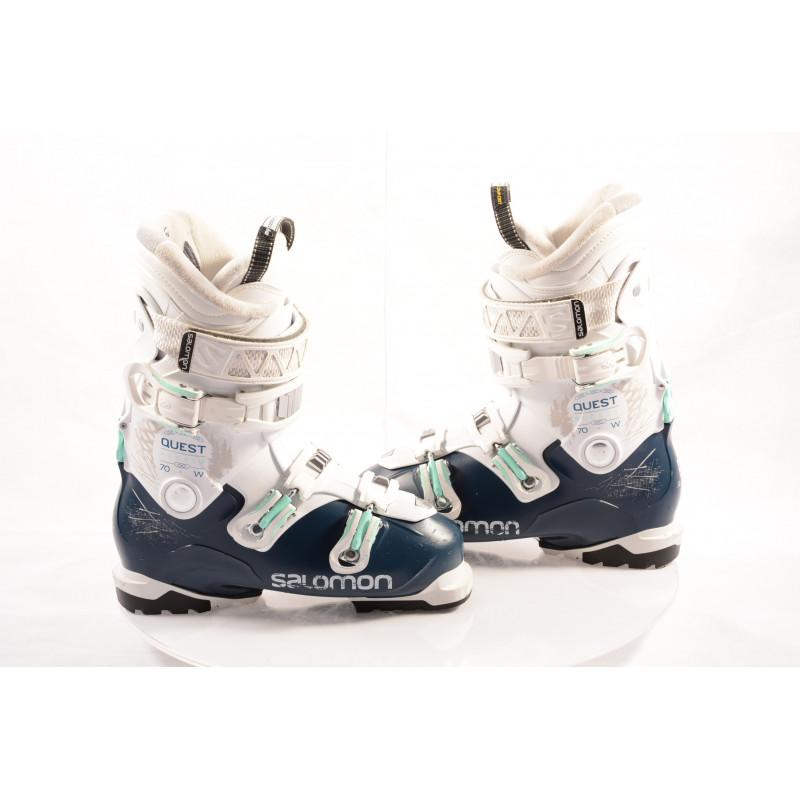dámske lyžiarky SALOMON QST ACCESS R70 W, dark blue/white, SKI/WALK, MY CUSTOM FIT , RATCHET buckle,