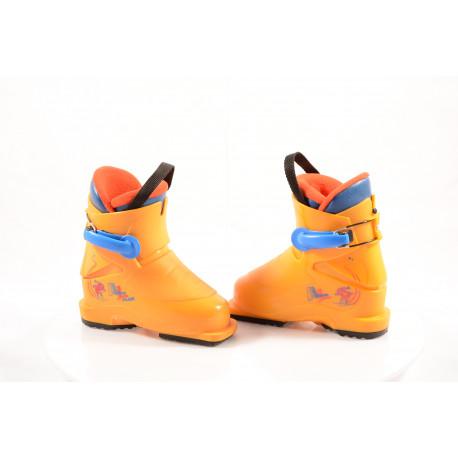 children's/junior ski boots ATOMIC JUNIOR plus 2018, yellow ( like NEW )