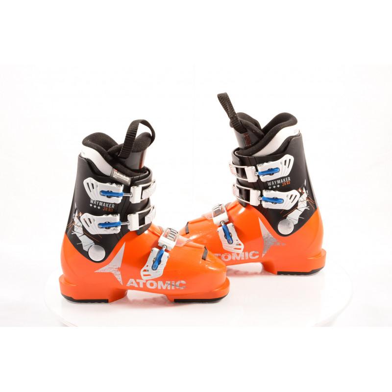 dětské/juniorské lyžáky ATOMIC WAYMAKER JR R3 orange, THINSULATE insulation