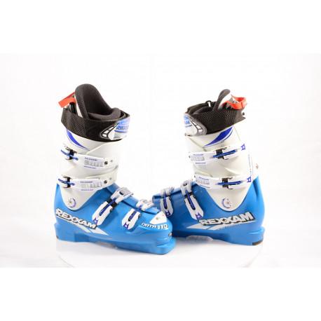 nové lyžiarky REXXAM DATA 110, R ONE CONCEPT BLUE/white, MADE in JAPAN, FLEX control, BX tech, RACE strap, canting ( NOVÉ )