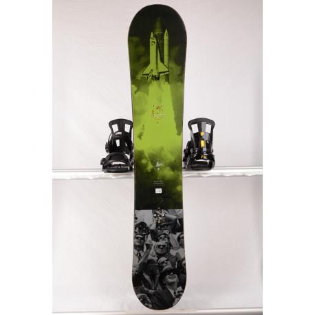 tabla snowboard BURTON PROCESS EXPERIENCE FLYING V, GREEN, woodocre, carbon, HYBRID/rocker