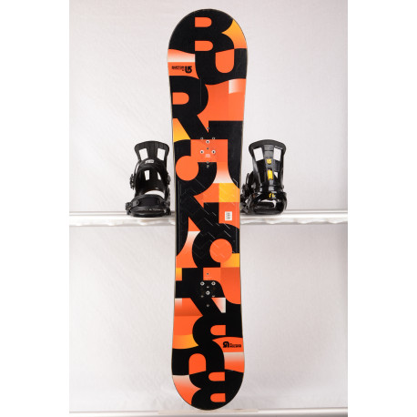 snowboard BURTON PROGRESSION 2018 orange, WOODCORE, sidewall, ROCKER