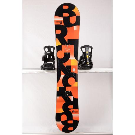 snowboard BURTON PROGRESSION 2018 orange, WOODCORE, sidewall, ROCKER
