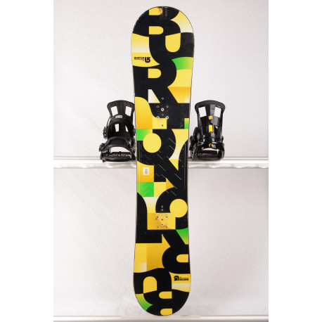 snowboard BURTON PROGRESSION 2018, Yellow, WOODCORE, sidewall, ROCKER