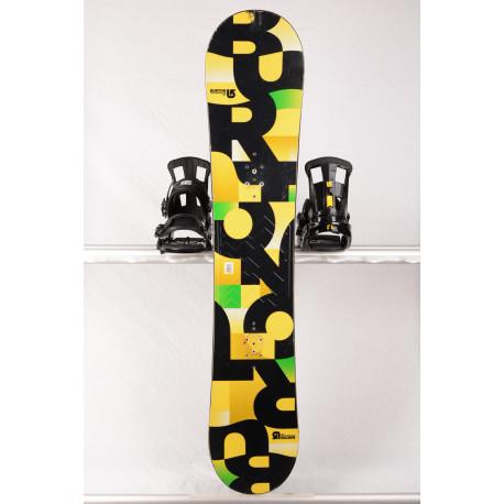 snowboard BURTON PROGRESSION 2018, Yellow, WOODCORE, sidewall, ROCKER