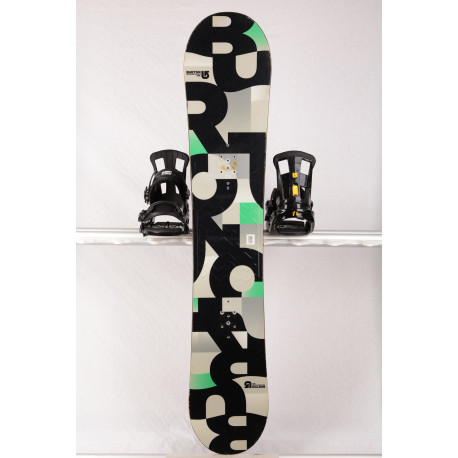 snowboard BURTON PROGRESSION, grey/cube, WOODCORE, sidewall, ROCKER