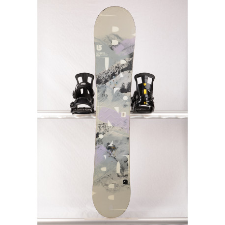 snowboard BURTON PROGRESSION 2017, Grey, WOODCORE, sidewall, ROCKER