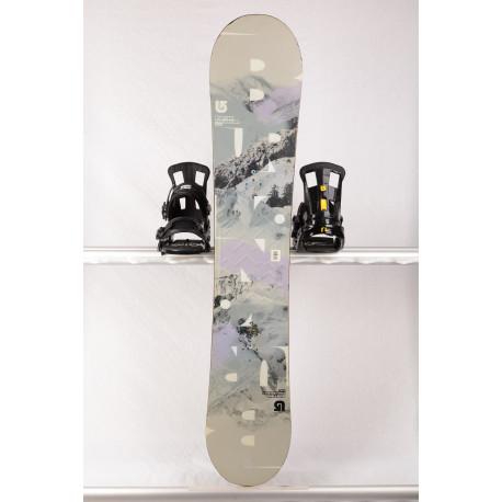 snowboard BURTON PROGRESSION, Grey, WOODCORE, sidewall, ROCKER