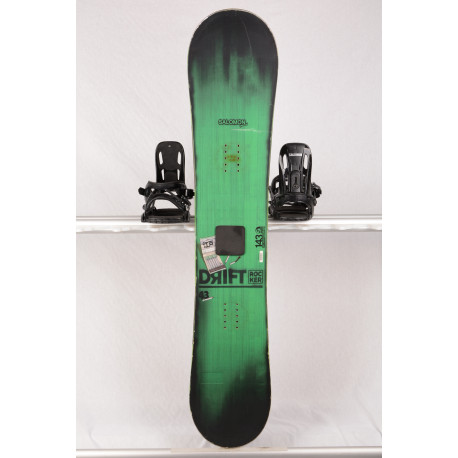 snowboard SALOMON DRIFT ROCKER WIDE, GREEN, woodcore, framewall, ROCKER