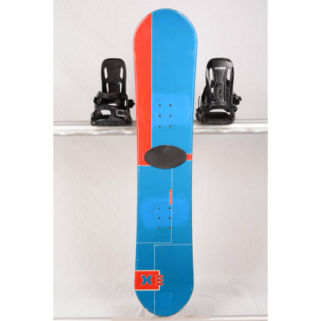 detský/juniorský snowboard X-CUSE QUEST blue, woodcore, CAMBER