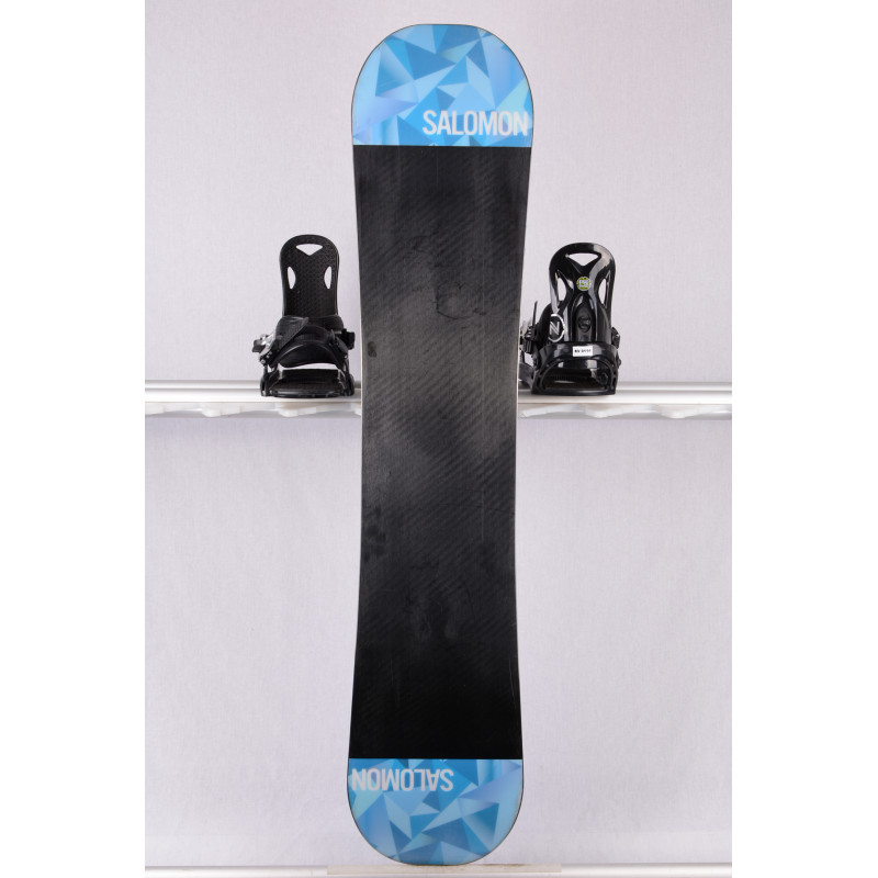 snowboard SALOMON WILD CARD 2018, black/blue, ALL terrain, woodcore, FLAT/rocker