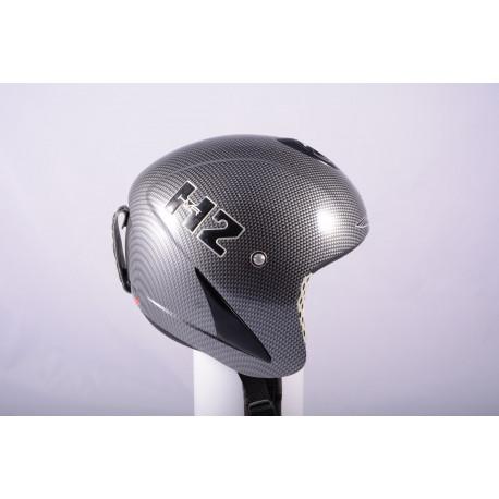 lyžiarska/snowboardová helma HMR H2 real CARBON TITANIUM, AIR ventilation ( ako NOVÁ )