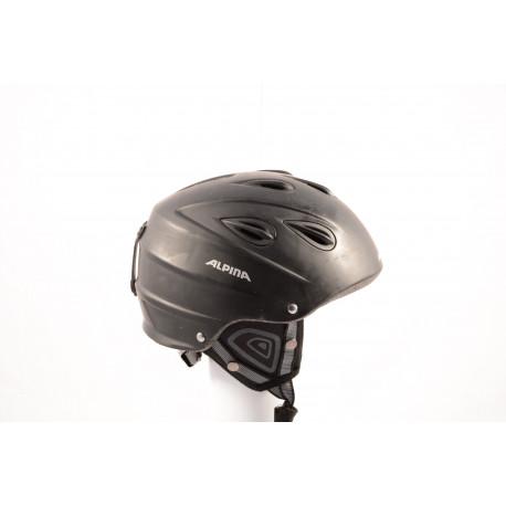 lyžiarska/snowboardová helma ALPINA JUNTA black, einstellbar