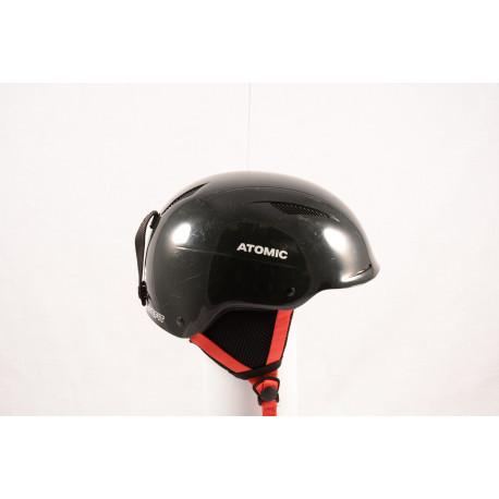 lyžiarska/snowboardová helma ATOMIC SAVOR LF live fit 2018, BLACK/red, nastaviteľná ( TOP stav )