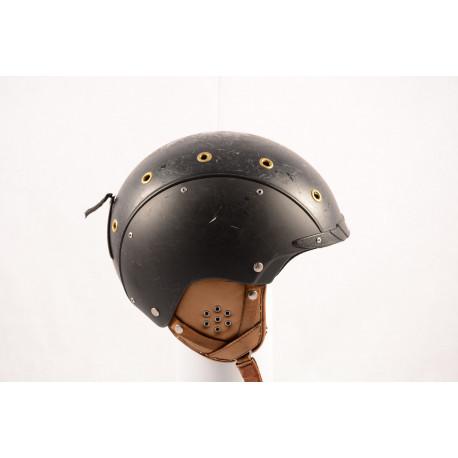 lyžiarska/snowboardová helma CASCO SP-3 AIRWOLF black/gold, nastaviteľná