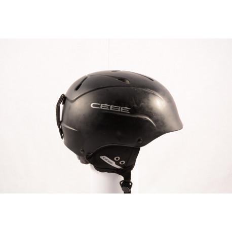 lyžiarska/snowboardová helma CEBE CONTEST 2018 black/matt, nastaviteľná