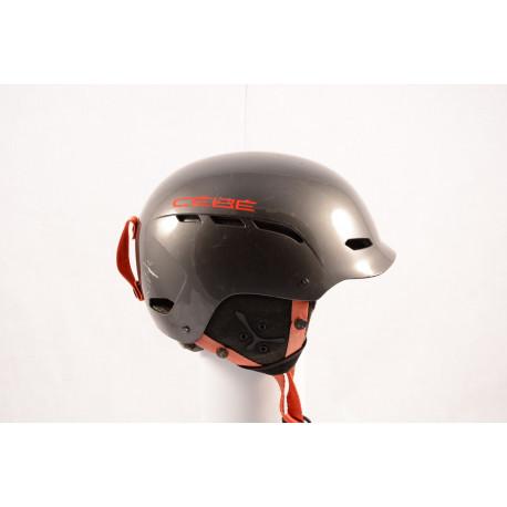 lyžiarska/snowboardová helma CEBE DUSK 2017, grey/red, nastaviteľná