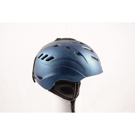lyžiarska/snowboardová helma CP CAMURAI blue, einstellbar, controllable air system