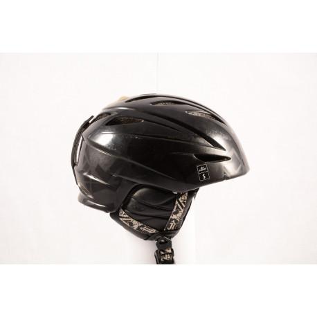 lyžiarska/snowboardová helma GIRO G10 2017 black/matt, air ventilation, X-STATIC, nastaviteľná