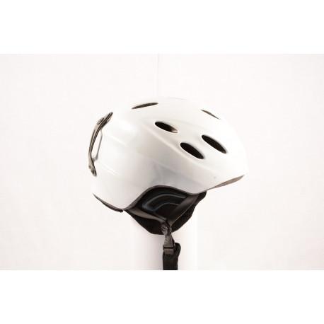 lyžiarska/snowboardová helma GIRO NINE. 9 white ( TOP stav )