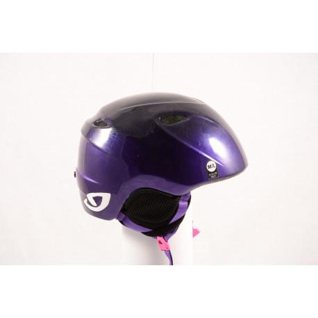 lyžiarska/snowboardová helma GIRO SLINGSHOT violet, nastaviteľná ( TOP stav )