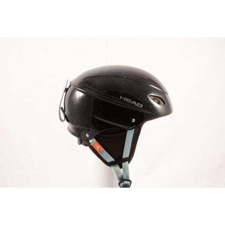 ski/snowboard helmet HEAD BLACK/blue, adjustable