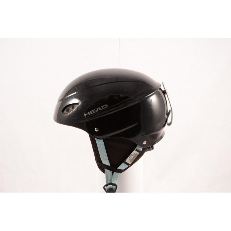 lyžiarska/snowboardová helma HEAD BLACK/blue, nastaviteľná