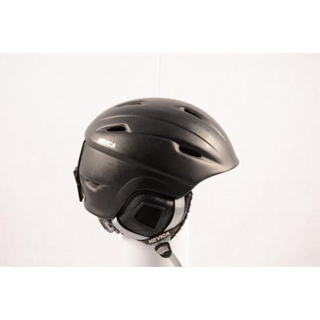 lyžiarska/snowboardová helma NEVICA VAIL black/matt, nastaviteľná
