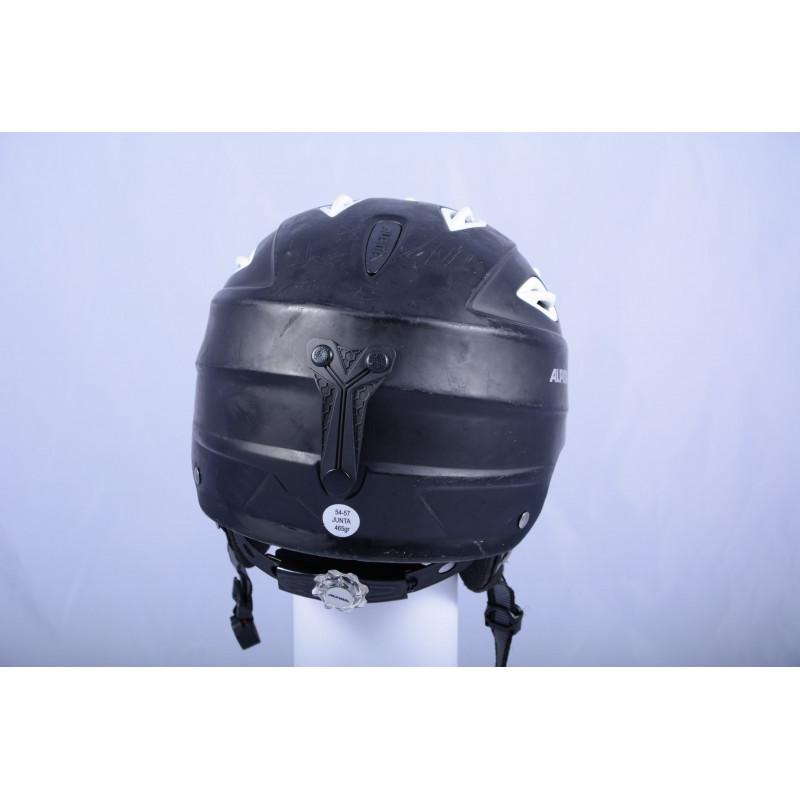 lyžiarska/snowboardová helma ALPINA JUNTA black/white, nastaviteľná ( TOP STAV )