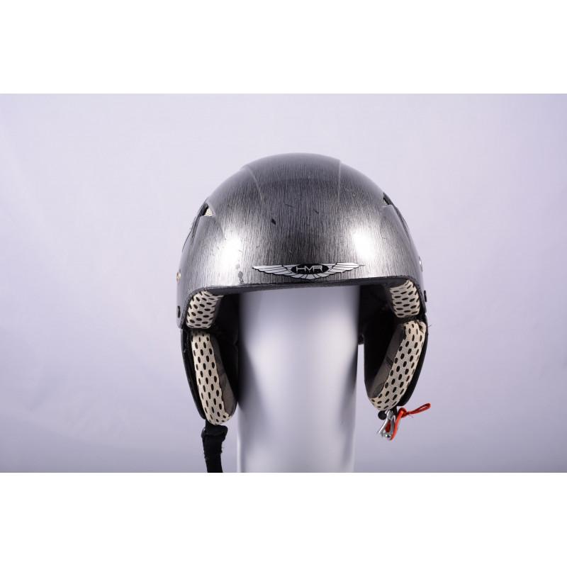 lyžiarska/snowboardová helma HMR H1 EVOLUTION real CARBON TITANIUM, AIR ventilation ( ako NOVÁ )