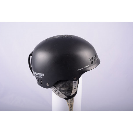 lyžiarska/snowboardová helma K2 PHASE 2017, BLACK/grey, nastaviteľná ( TOP stav )