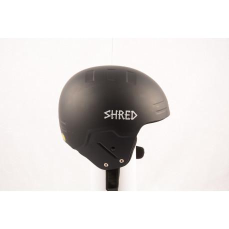 lyžiarska/snowboardová helma SHRED BASHER NOSHOCK helmet 2018, Black, FIS norm (NOVÁ)