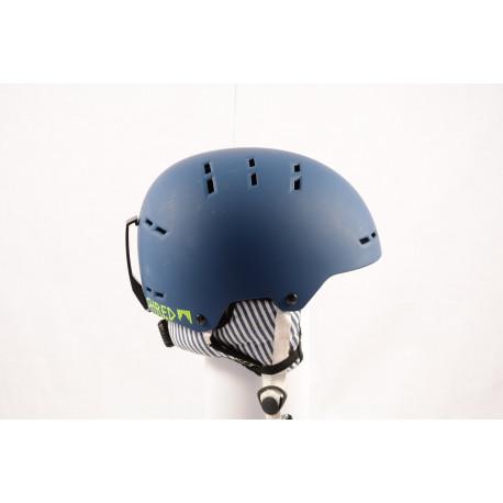 lyžiarska/snowboardová helma SHRED BUMPER NOSHOCK WARM PAJAMA navy blue 2018 nastaviteľná ( NOVÁ )