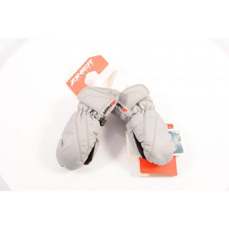 detské lyžiarske rukavice ZANIER PERKY silver, THERMATIC ( NOVÉ )