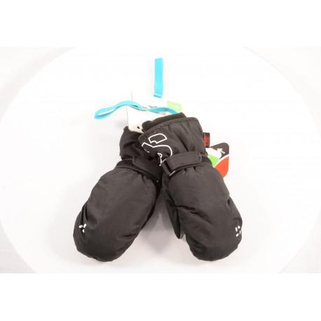 detské lyžiarske rukavice SKISET SONNY black 2017, WARMTH, COMFORT, QUICK dry, BREATHIBILITY ( NOVÉ )