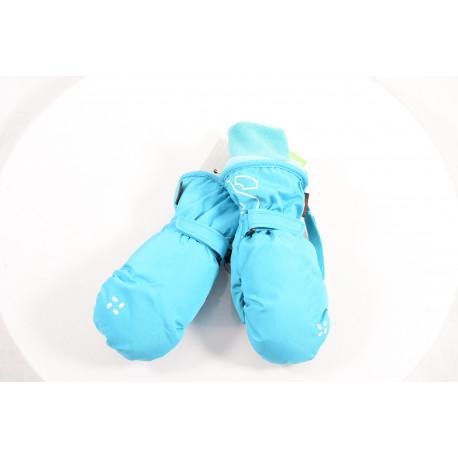 detské lyžiarske rukavice SKISET SONNY turquoise 2017, WARMTH, COMFORT, QUICK dry, BREATHIBILITY ( NOVÉ )