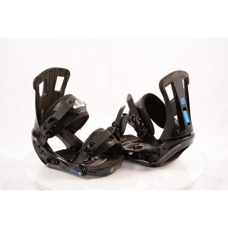 snowboardové viazanie BURTON PROGRESSION 2018 black/blue, size S, M ( TOP stav )